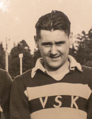 Arne Lundberg. Foto: VLT:s arkiv