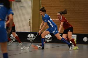 Josefina Parling utsågs till matchens bästa spelare i H/B och stod för ett mål och en assist.