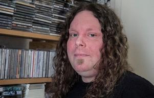 Andreas Baglien, en av arrangörerna till Rock the mountain.