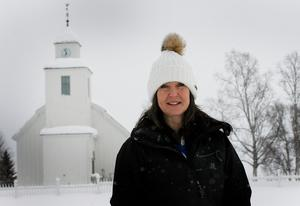 Eva Moén är kyrkvaktmästare i Storsjö.