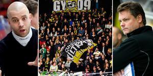 Både Tornberg och Ivarsson lämnade VIK. Bilden är ett montage. Fansen på bilden har inget med artikeln att göra. Foto: Tobias Sterner / BILDBYRÅN