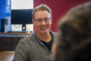 Rektor Anders Danielsson Lans.