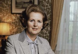 Margaret Thatcher var tidigt ute med att varna för klimatförändringarna – en politik som kom av sig. Bild: TT