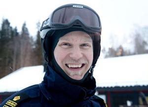 Josef Wiklund har varit skidpolis tidigare.