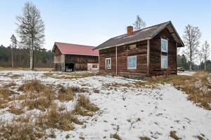 Denna villa, med 45 kvadratmeter timmerstomme, i Hemre, Insjön, Leksands kommun, kom på plats nio på Dalarnas Klicktoppen för förra veckan.Foto: Eric Böwes