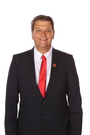 Peter Masuhr, försäljningschef på Mora IK. Foto: Mora IK