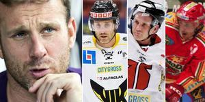 Strömberg har bland annat spelat i Västerås, Örebro och Modo under sin långa karriär. I podden berättar han om alla karriärssteg. Foto: Sporten//Bildbyrån.