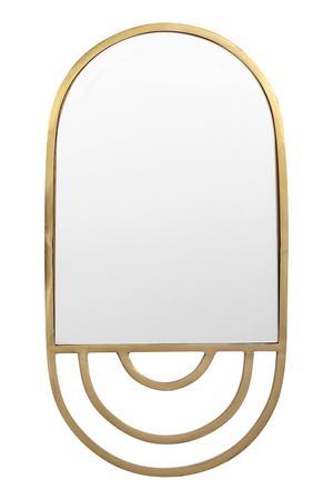 Spegel med metallram. 23,5x44 cm. 399 kronor på H&M Home. Enbart onlinevara.