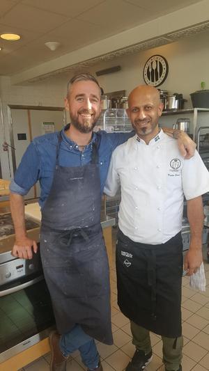 Abdelkader Cheriet gjorde utbildning hos kocken Sebastien Boudet för tre månader sedan. Där lärde han sig konsten med surdeg som kommer till användning under Pizza Champions Cup.