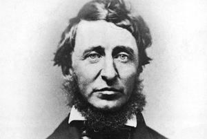 Henry David Thoreau var poet, filosof och estet som förespråkade enkelhet.