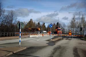 Även från Krylbosidan är det stopp för trafiken