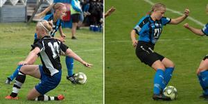 Rebecca Johansson och Stina Wallner degraderades med sitt Domsjö, men håller sig kvar i division 1 genom klubbyte.