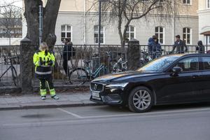 Just den här Volvon var korrekt parkerad.