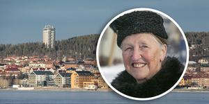 Gunilla Nilsson Edler, stadsvandringsguide och Årets Gregorius 2020.