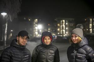 Abbe Ibrahim, Michelle Nilsson och Cecilia Byström.
