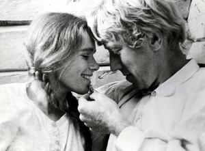"""Liv Ullmann och Max von Sydow spelade huvudrollerna i Jan Troell-regisserade filmen """"Utvandrarna"""" 1971."""