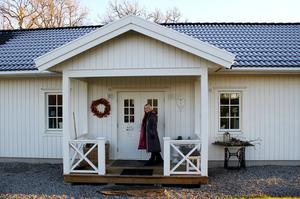På besök hos familjen Haaga på Skästa Gård.