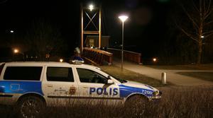 Två personer misshandlades på Koppardalsbron i Avesta natten mot söndag. Foto: Niklas Hagman