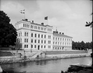 Så såg Strandhotellet ut omkring 1925 då Folkets hus hade disponerat huset i sju år.
