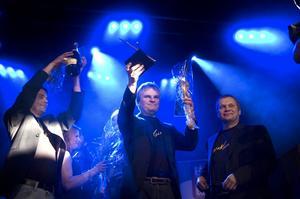 Larz Kristerz från Älvdalen vann det nyinstiftade priset Årets Bjarne. Foto:Paulina Håkansson