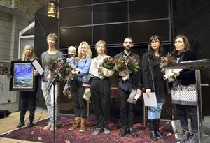Årets stipendiater: Ilona Johansson (hedersomnämnande som idrottsledare), Emil Wesolowski, Ylva Westerlund, Emilia Bergmark, Talel Dayekh, Annelie Nederberg och Ann-Kristin Källström.