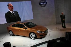 Efter affären mellan Geely och Volvo var intresset från kinesiska medier stort när nya S60 avtäcktes.