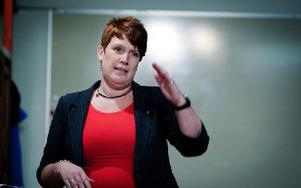 Det finns absolut lämpliga kandidater som kan efterträda mig, säger Maria Strömkvist. Bör det vara en kvinna? Det uttalar jag mig inte om, det får partiet avgöra, svarar hon. Foto: Arkiv/DT