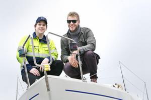 Jonas Olsson och Karl-Oskar Wicksell tänker genomföra sin drömresa.