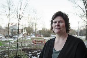 Maria Löfgren, enhetschef på Migrationsverket i Borlänge.