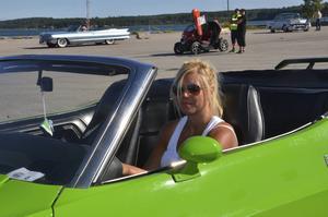 Madelene Collins bil tillhörde de åtta snyggaste enligt publiken.
