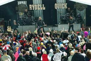 Rydell & Quick var ett av banden som rockade loss på After ski 1000 på Ramundberget.