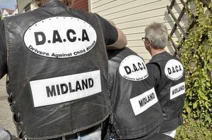 """Midland. D.A.C.A är rikstäckande, uppdelat i regioner norr, syd och här mellan, eller """"Midland""""."""