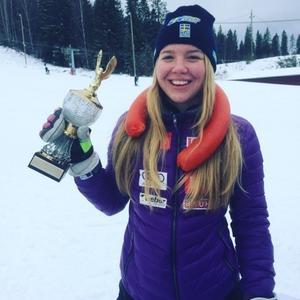 Elsa Håkansson-Fermbäck tog dubbla segrar i Bollnäs under helgen.