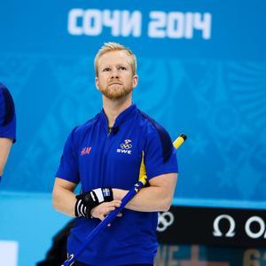 Niklas Edin har skött sig bra hittills i OS.