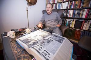 Sture Hofvenstam var spaningsledare vid den förra styckmordsutredningen i Gästrikland.