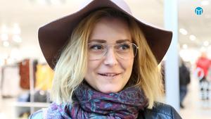Viktoria Lingvall:- Jag får väl ladda upp då, eller så får jag sluta. Det vore väl kanske bra på det viset om det försvann.
