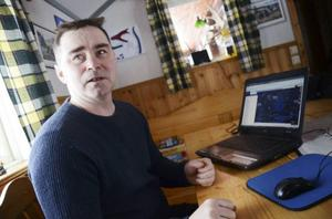 Nicklas Johansson, ordförande för Tåssåsens sameby, är glad över domen som ger Girjas sameby ensamrätt till jakt och fiske inom renbetesfjäll.