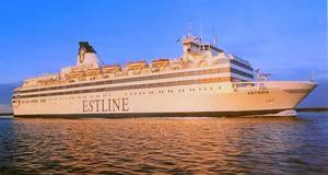 Estonia – innan fartygen förliste.