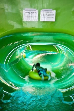 Vattenrutschkanan Magic Eye på Storsjöbadet har tidigare orsakat flera olyckor. I onsdags var det dags igen.