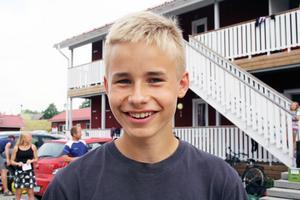 Walter Lagerhäll, 16 år, Rehns BK.