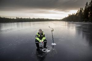 IngMarie Larsson har fått en regnbåge på 1,7 kilo på pimpling. Men det var i ett annat vatten.