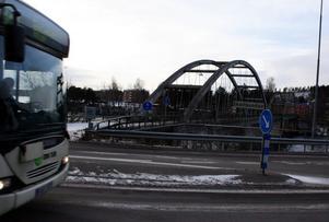 Fordonstrafiken har sedan länge slutat att trafikera Harabergsbron.