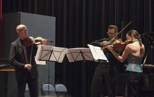 Weberkvartetten gjorde en konsert för att hedra minnet av Erik Nordien.