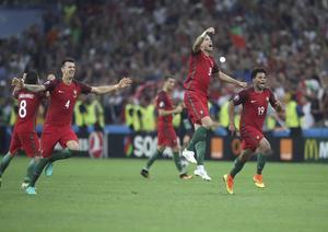 Portugal firar efter straffsegern.