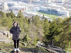 Venera Rexhi har kommit hem till Sundsvall för att tillsammans med SDFF lägga födelsestaden och IP för sina fötter.