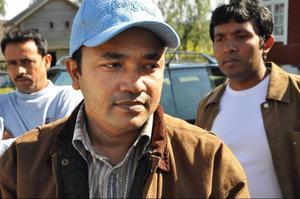 Bangladeshs förste ambassadsekreterare Massud Ulalam.