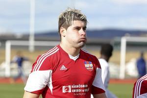 Adrian Borostean gjorde viktiga 2–1-målet för Härnösand.