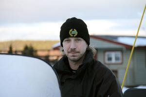Snöskotern använder vi till allting, bland annat när vi kollar snökanonerna när vi gör snö, berättar Björn Mähl.