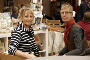 INFORMERA. Marita Windahl-Collert och Eva Nyberg tycker vårdcentralen i Skutskär är bra. Däremot skulle de vilja att vårdcentralen gick ut och informera mer om verksamheten.