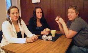 Camilla, Tanja och Katja Torkkel, tre systrar som lämnat Kristianstad för Stugubygden.